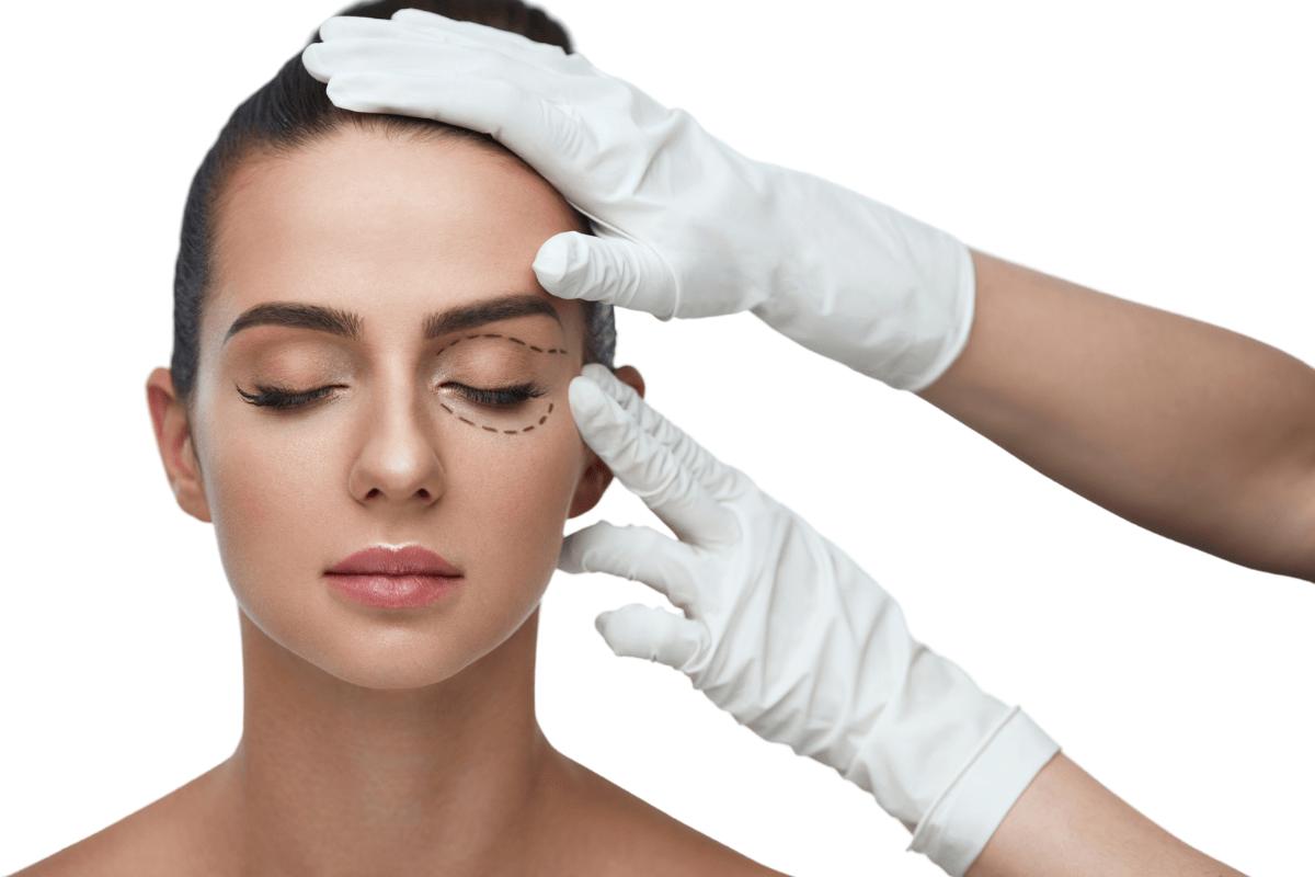 tratamientos de cirugía estética, rostro mujer